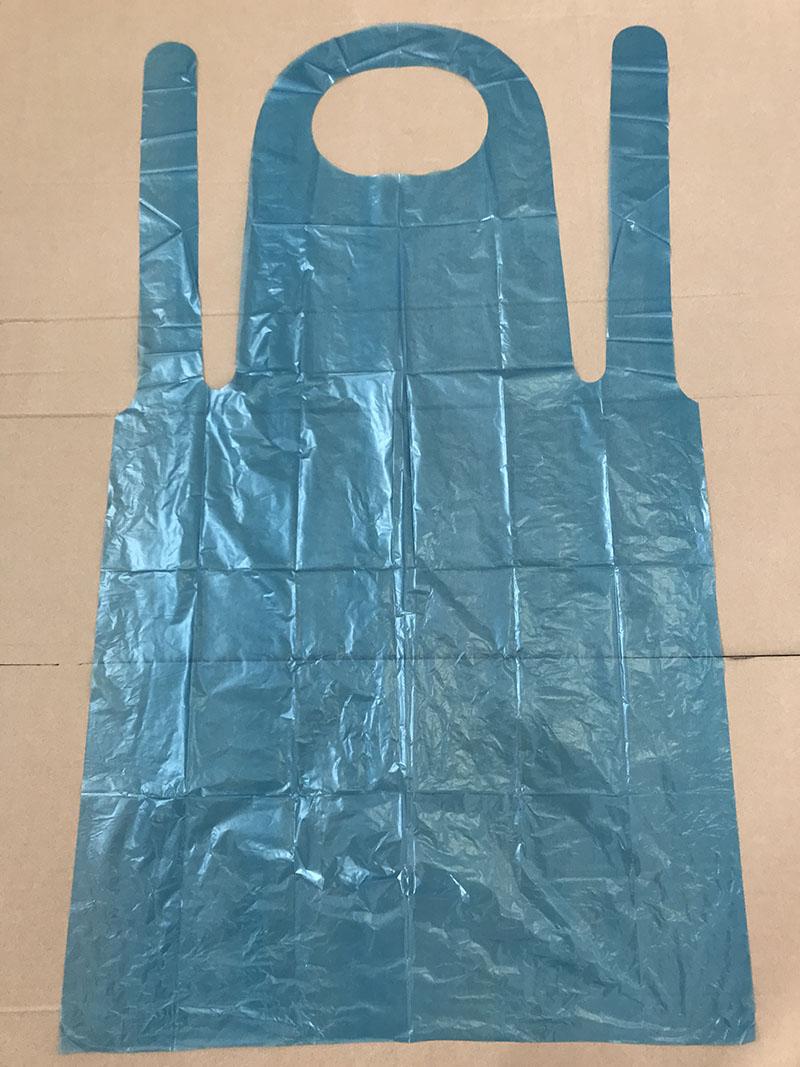 DISPOSABLE BLUE APRON FACTORY - PE APRON