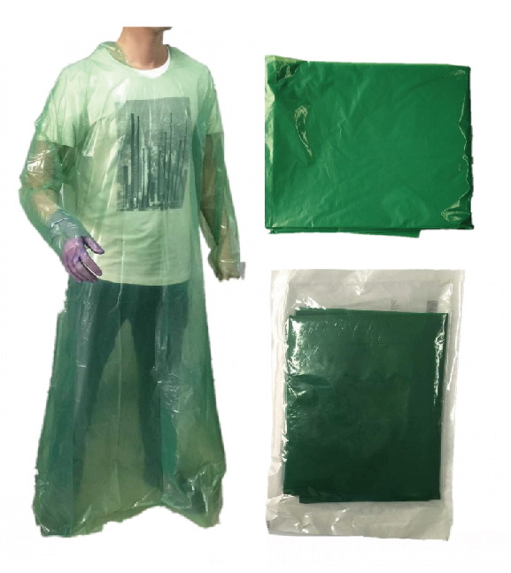 DISPOSABLE PE GOWN - PE GOWN