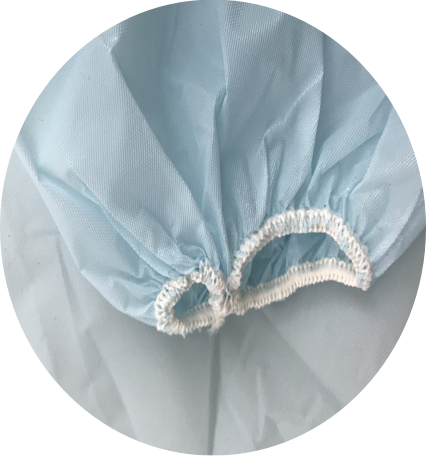 TYPE B - CPE APRON WITH SLEEVES